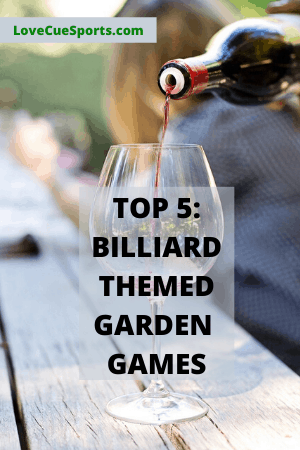 Billiard garden party