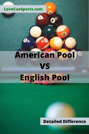 American pool vs english pool