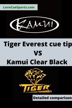 Tiger Everest tip vs Kamui