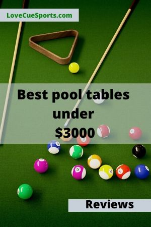 best pool table under 3000