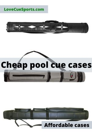 sussie daddy 4 Hole Billiard Cue Cases 2 Butts//2 shafts Pool Cue Carring Cases Portable Essential Pool Stick Storage Bag